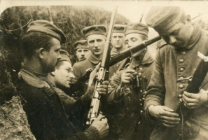 Image result for ww1 german soldier with rifle