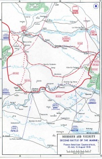 Marne, Battles of the | International Encyclopedia of the ... on battle of verdun map wwi, downloadable maps of battle wwi, allied powers map wwi, battle of tannenberg map wwi,