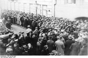 german society after ww1