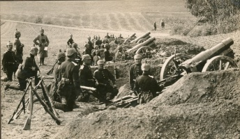 Image result for ww1 german artillery guns